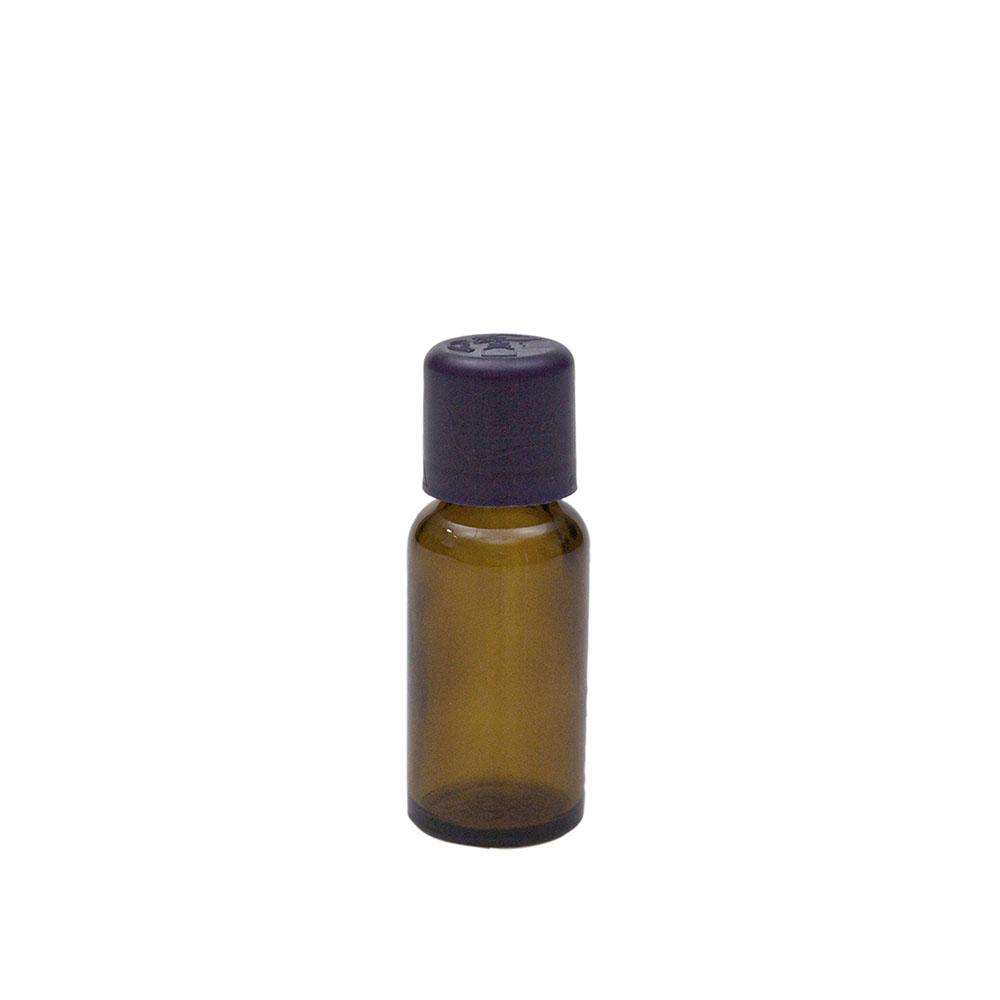 Braunglasflasche für 20ml, mit Tropfer und KiSi-Verschluss, 1St.