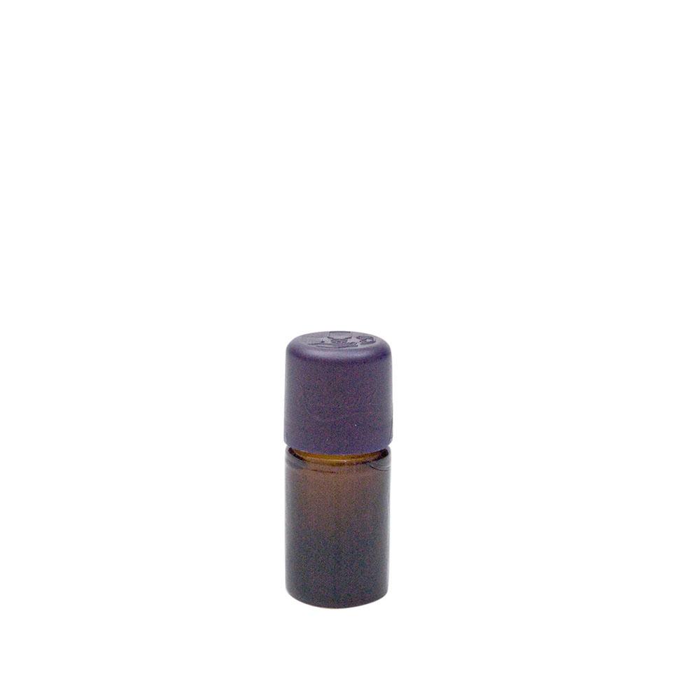 Braunglasflasche für 5ml, mit Tropfer und KiSi-Verschluss, 1St.