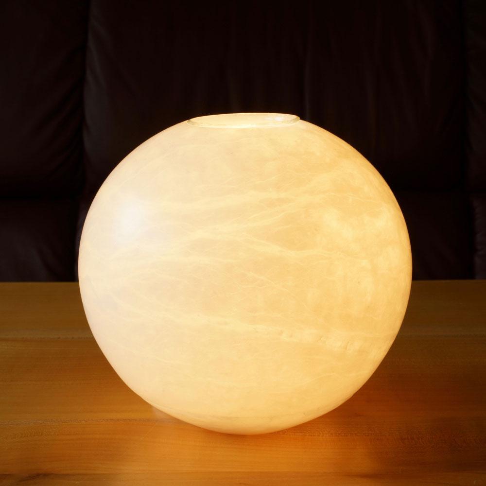 Alabaster-Duftlampe Neumond, 1St.