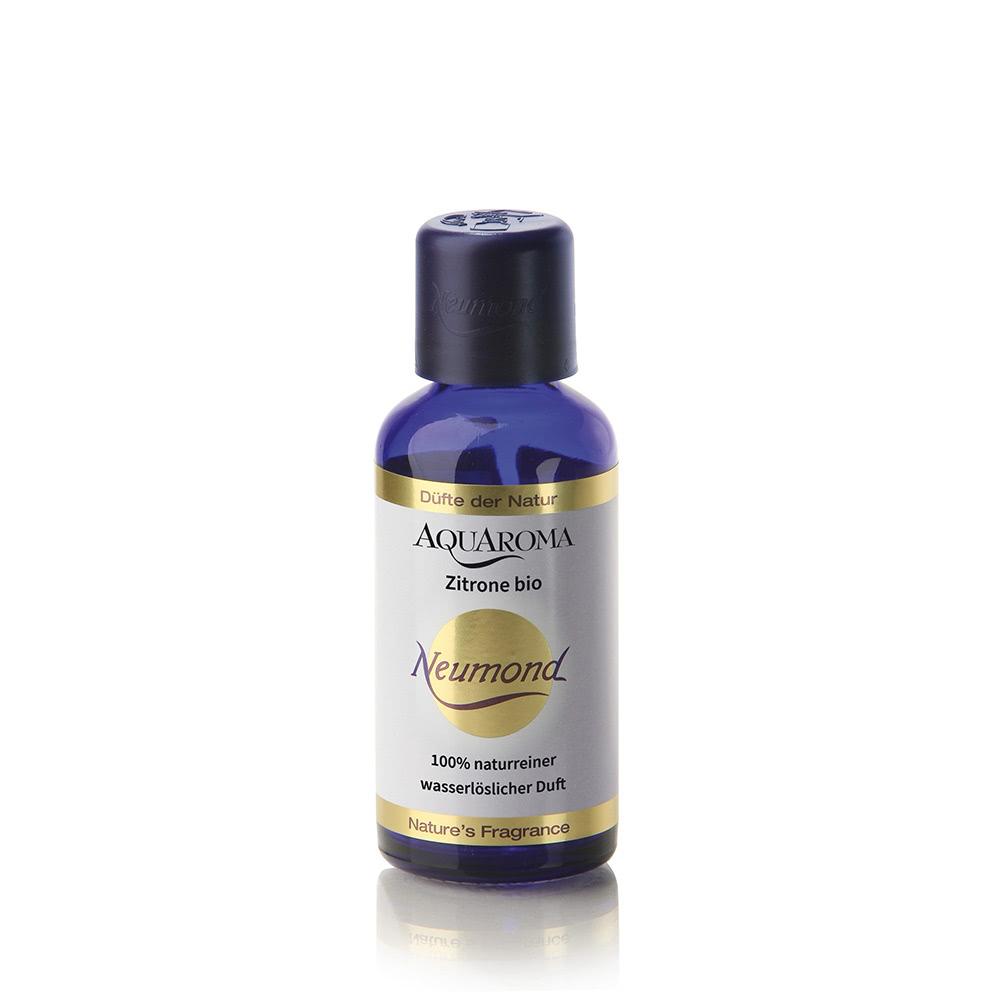 AQUAROMA Zitrone bio - Tropferflasche, 50ml